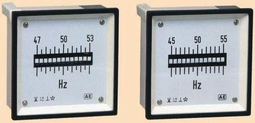 VIBRATING REED FREQUENCY METER